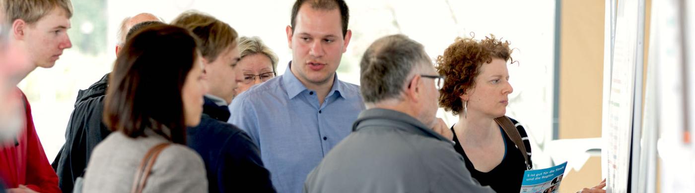 <p>Infomessen und Online-Dialog zum Aubau der S-Bahn stießen auf großen Zuspruch.</p>