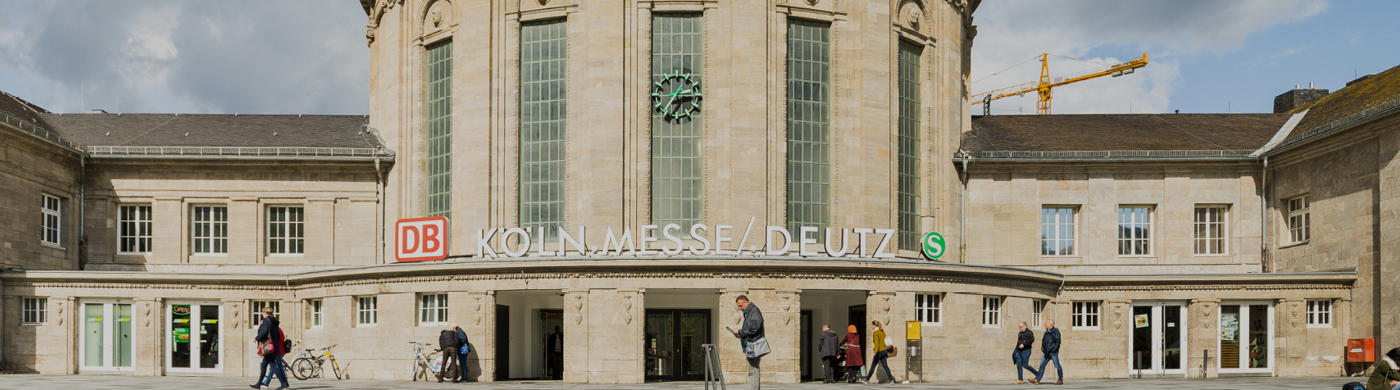 <p>Der Messestandort Köln ist für die reibungslose An- und Abreise der Besucher auf eine gute Anbindung angewiesen. Im Interview verdeutlicht Gerald Böse seine Erwartungen an den Ausbau der S-Bahn.</p>
