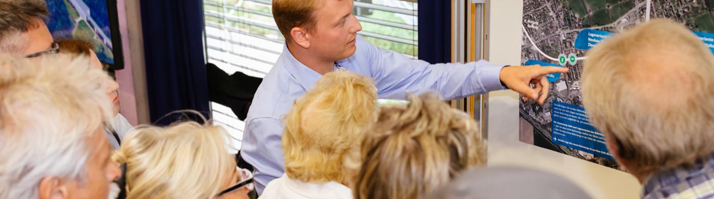 <p>Noch bis Freitag läuft der Bürgerdialog zum Ausbau der Erftbahn.</p>