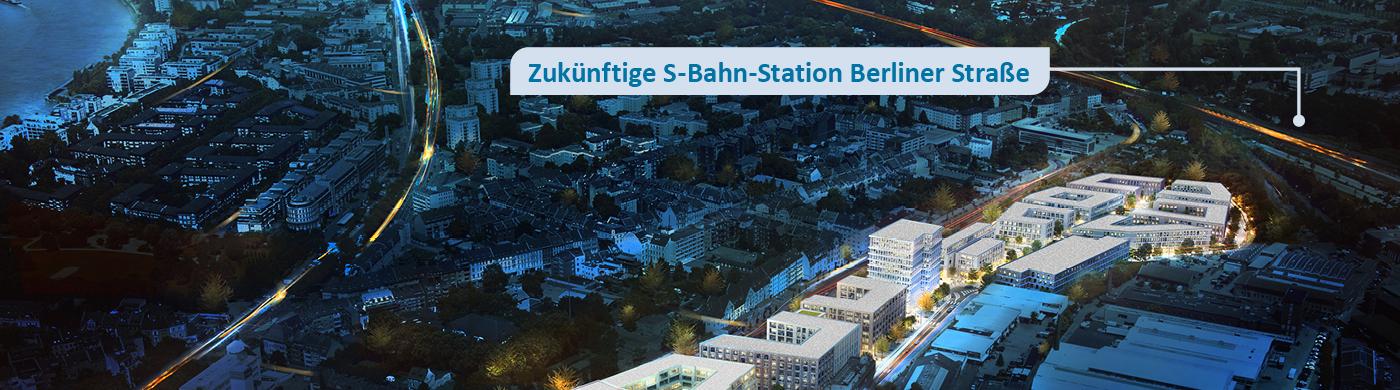<p>Der Norden Mülheims entwickelt sich rasant: Um dem Rechnung zu tragen, entsteht in unmittelbarer Nachbarschaft zur Stadtbahn-Haltestelle Berliner Straße eine neue S-Bahn-Station. Das ist geplant.</p>
