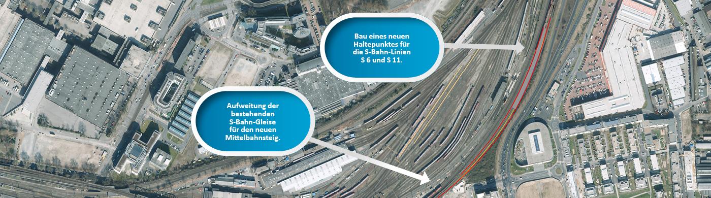 <p>Durch den neuen Haltepunkt Köln-Kalk West soll die Anbindung zur Innenstadt und Universität noch besser werden.</p>
